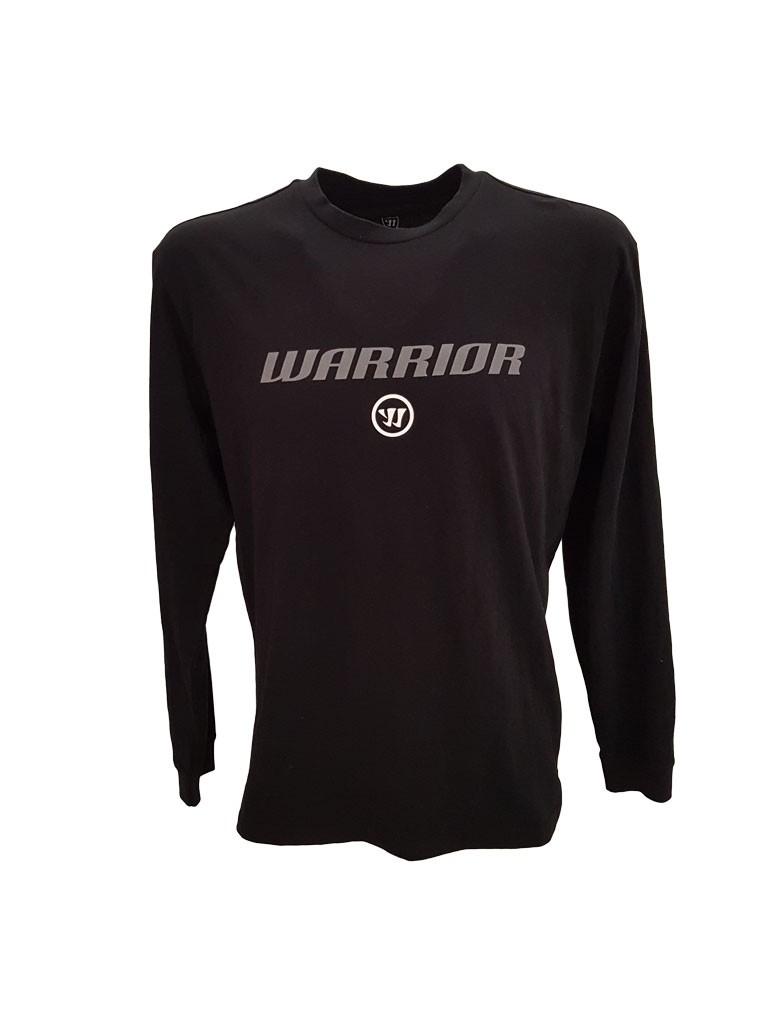 WARRIOR LS Logo Pieaugušo Krekls ar Garām Piedurknēm