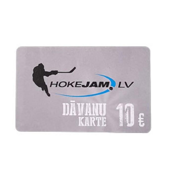 HOKEJAM.LV Dāvanu Karte 10€