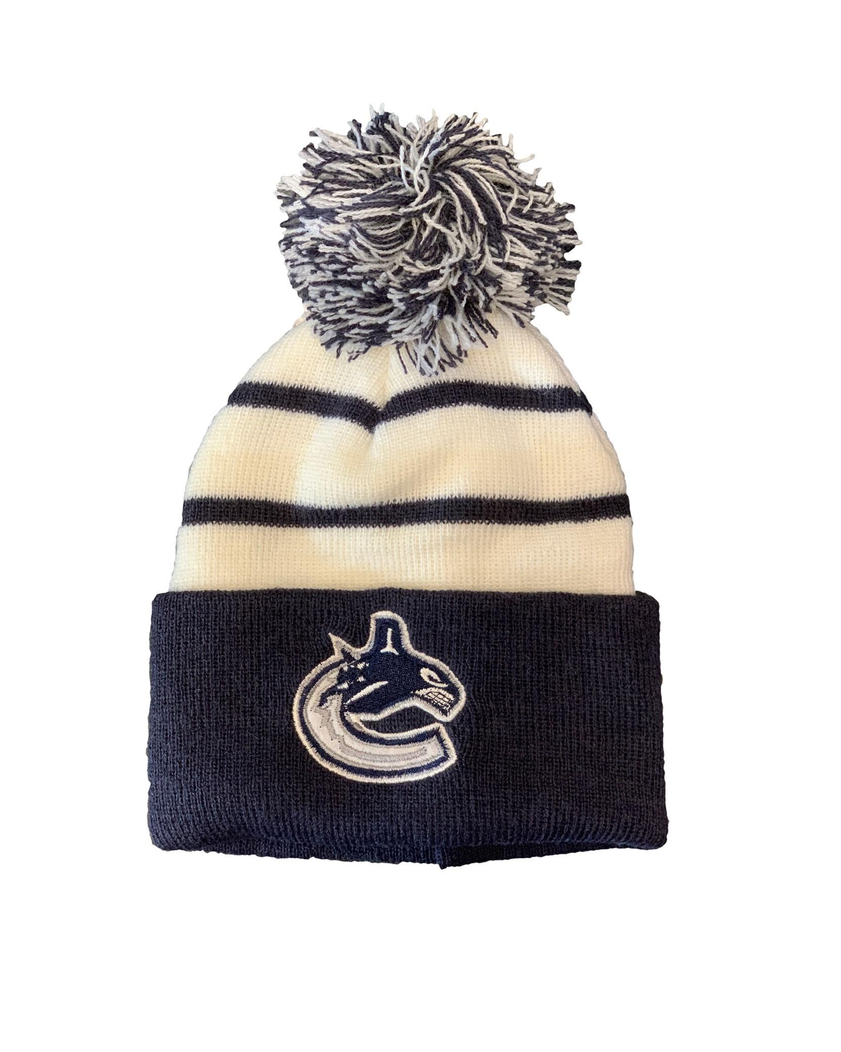 NHL Vancouver Canucks Retro Toque Bērnu Ziemas Cepure