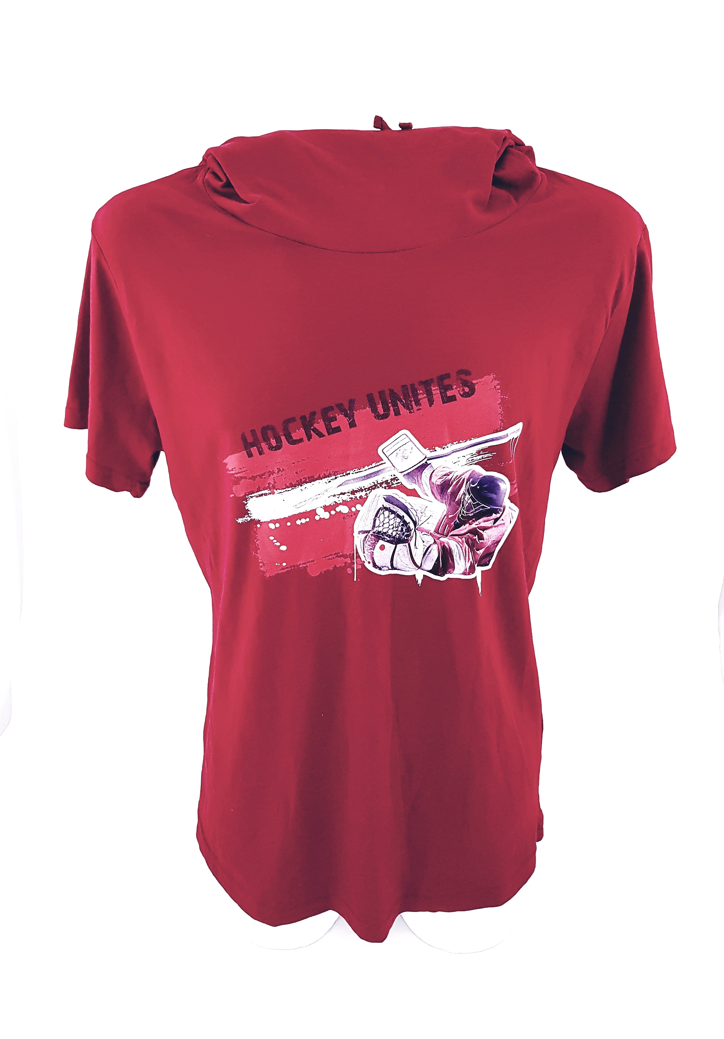 HOKEJAM.LV Pieaugušo Vārtsarga Logo Latvija T-Krekls ar Garo Kaklu