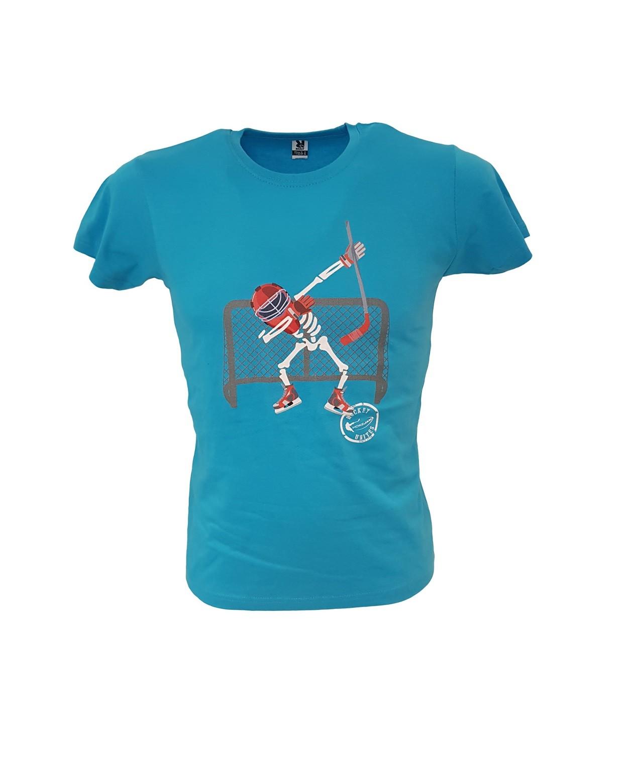 HOKEJAM.LV Skeleton Goalie Bērnu T-Krekls