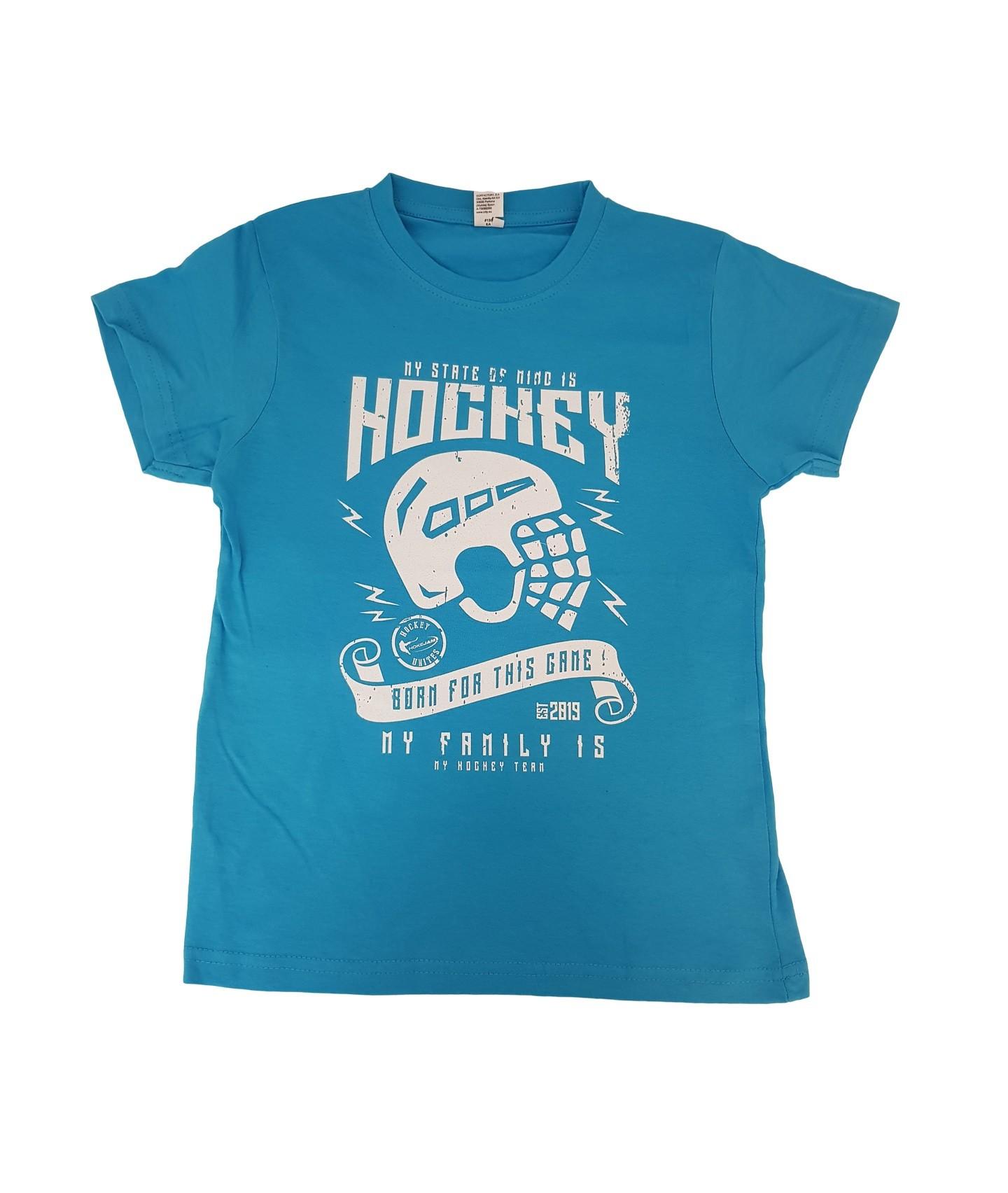 HOKEJAM.LV My State Of Mind Is Hockey Bērnu T-Krekls