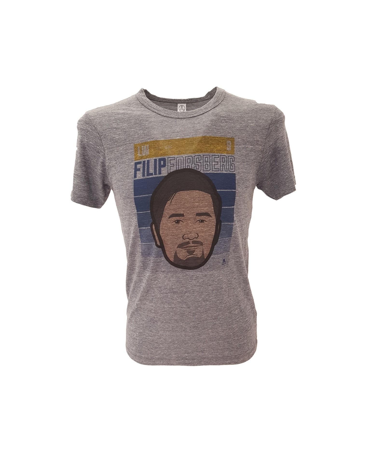 500 LEVEL Filip Forsberg Pieaugušo T-Krekls