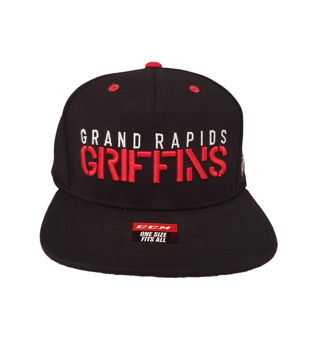 CCM Grand Rapids Griffins Flat Brim Vasaras Cepure