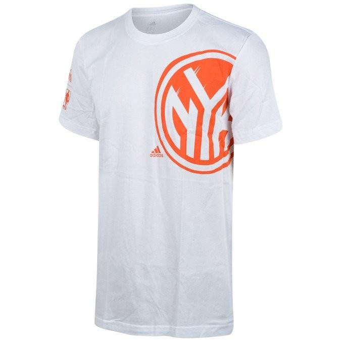 ADIDAS New York Knicks Basketbola T-Krekls