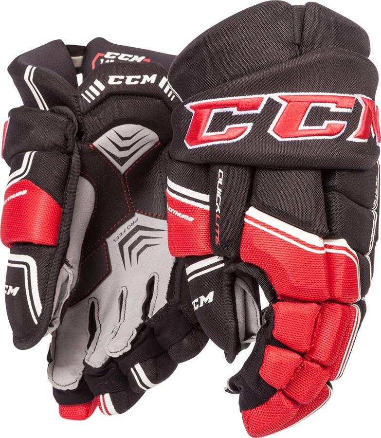 CCM QuickLite QLT Pieaugušo Hokeja Cimdi