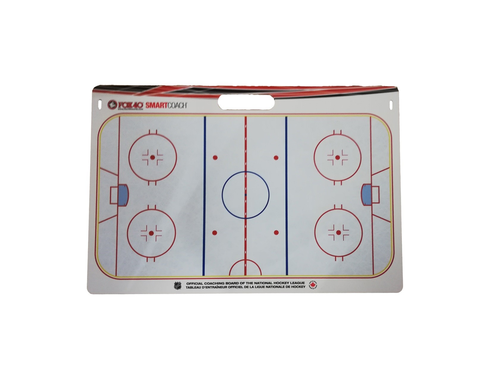 FOX 40 Pro Rigid NHL Carry Hokeja Taktikas Dēlis