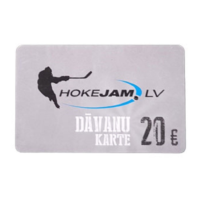 HOKEJAM.LV Dāvanu Karte 20€