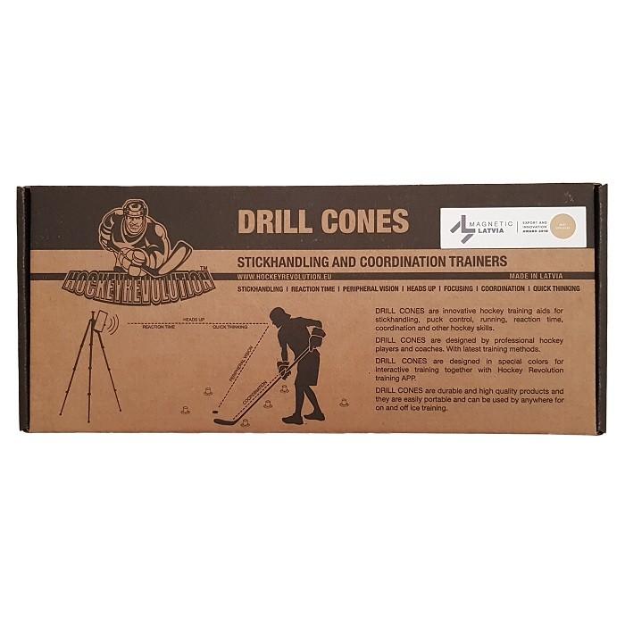 Drill Cones Nūjas Tehnikas Trenažieris