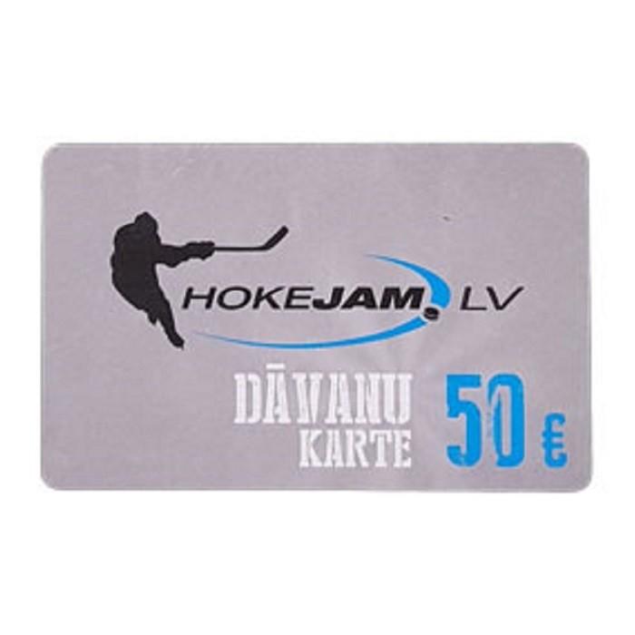 HOKEJAM.LV Dāvanu Karte 50€
