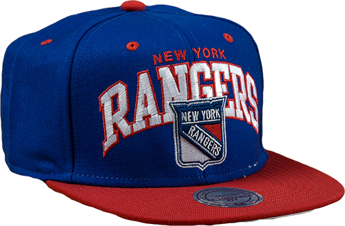 MITCHELL & NESS New York Ranger Snapback Vasaras Cepure ND12Z