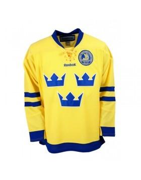 REEBOK Team Sweden Pieaugušo Fanu Krekls (Izbraukuma)
