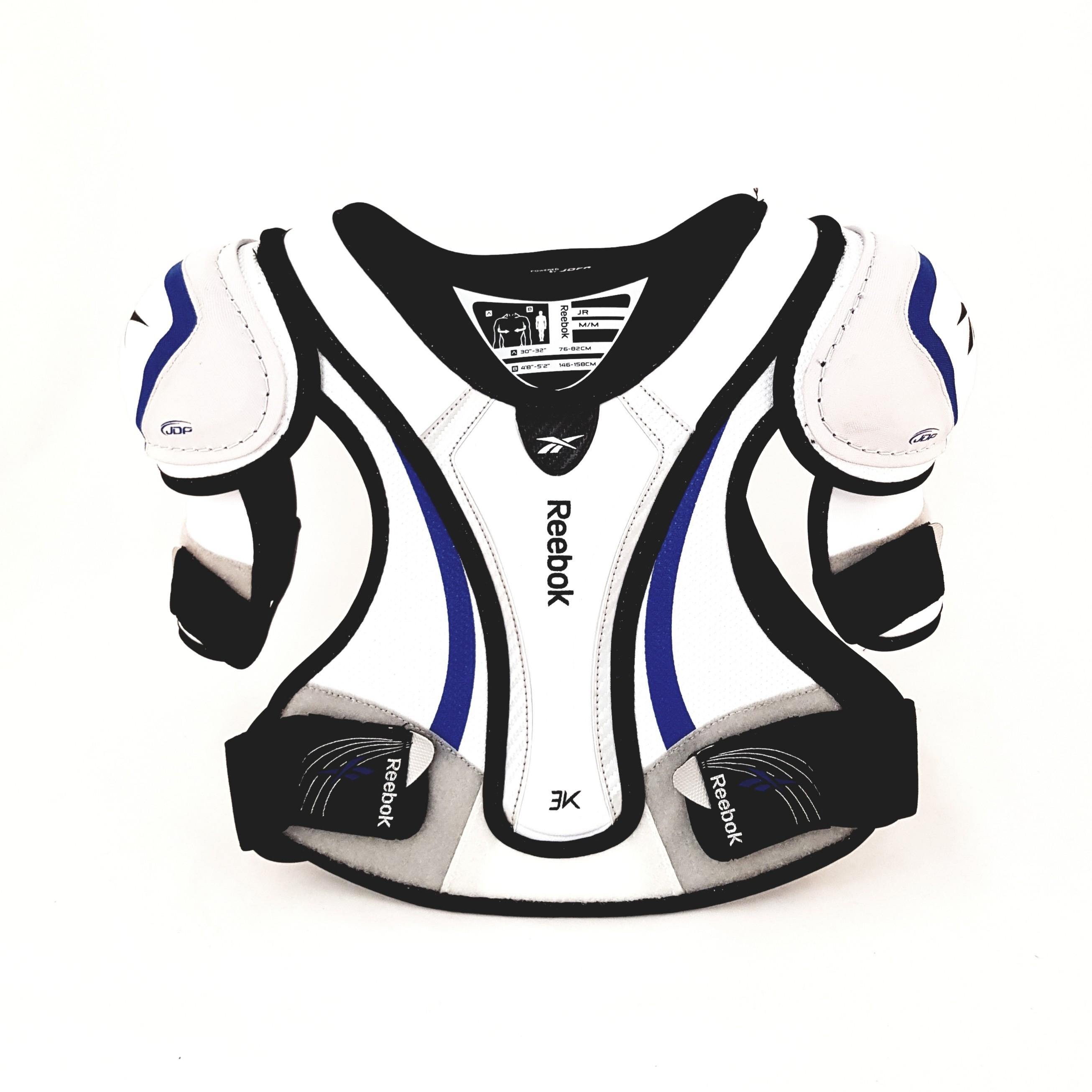 REEBOK 3K White Edition Junioru Plecu Sargs