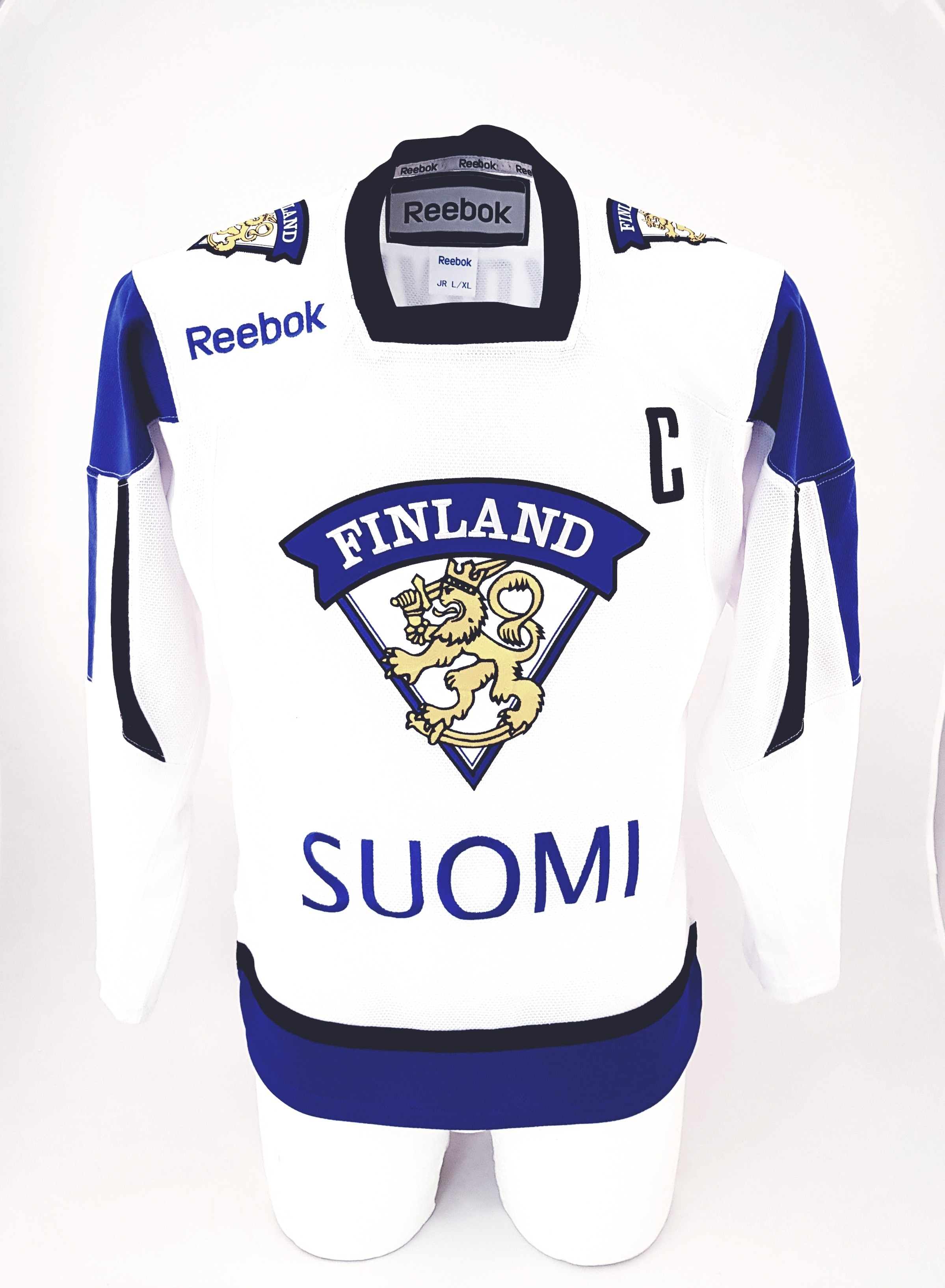 REEBOK Team Finland Bērnu Fanu Krekls (Izbraukuma) - Koivu