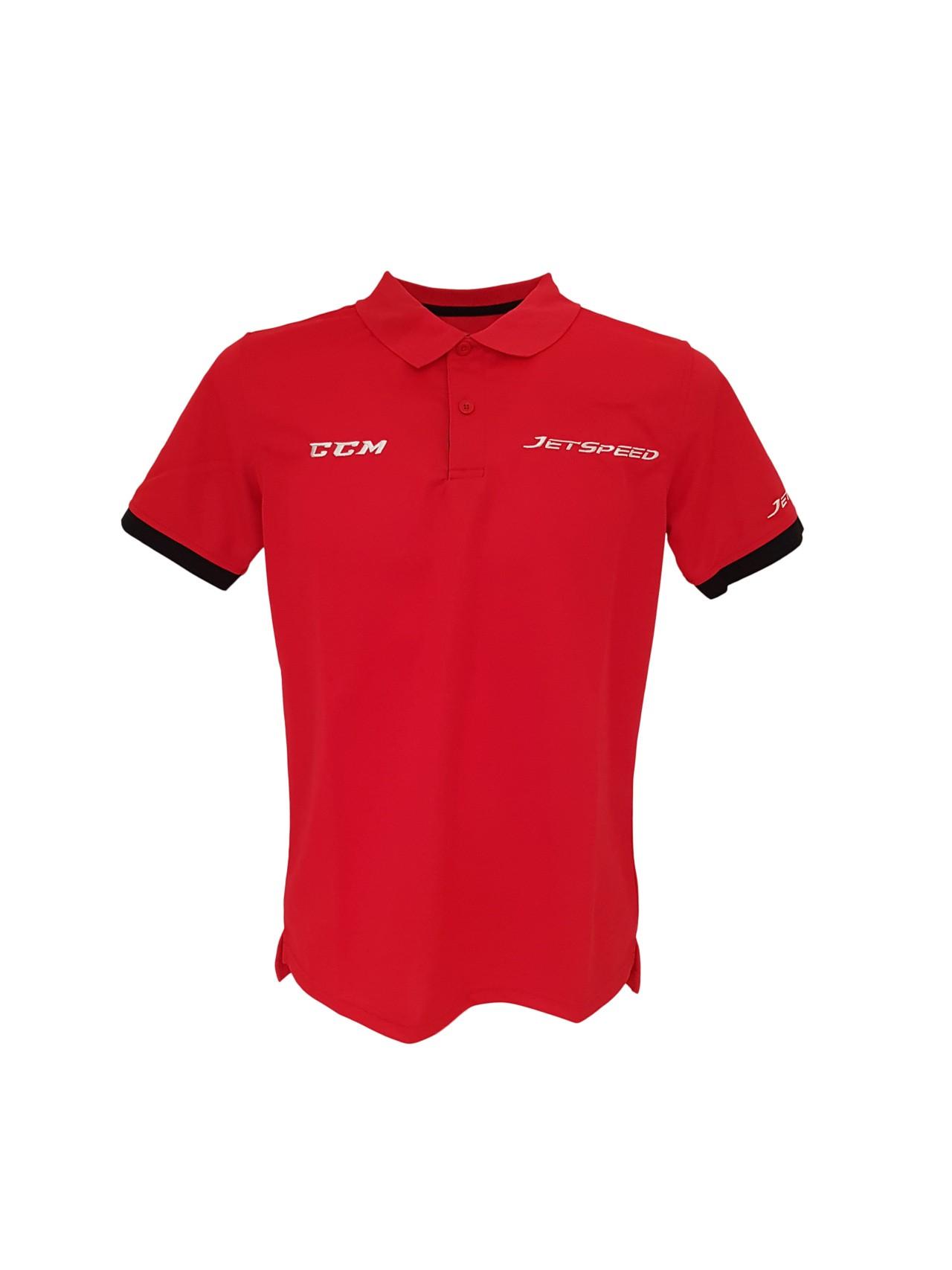 CCM Jetspeed Staff Pieaugušo Polo Krekls