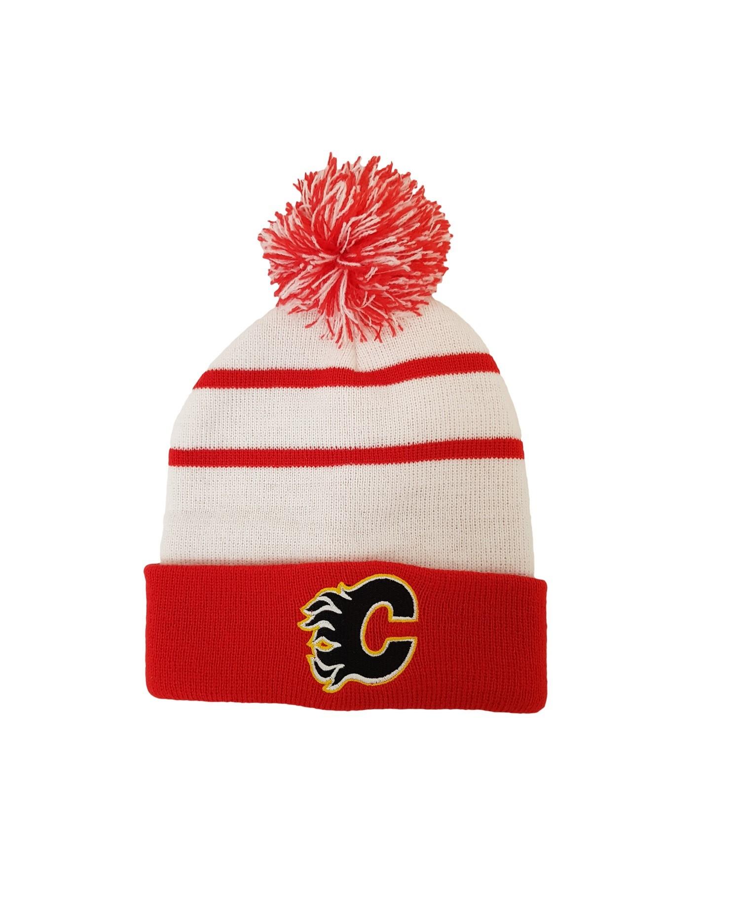 NHL Calgary Flames Retro Toque Bērnu Ziemas Cepure