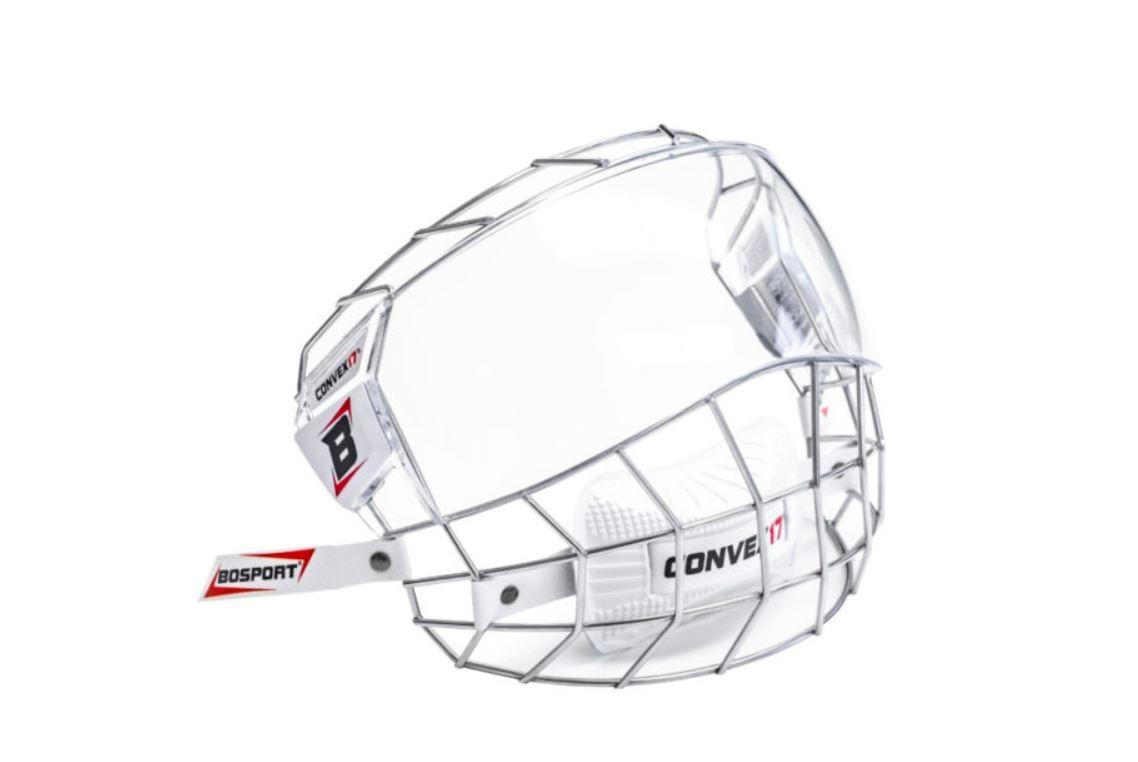 BOSPORT Convex17 Stainless Steel Pieaugušo Ķiveres Režģis ar Stiklu