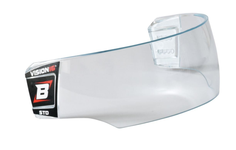 BOSPORT Vision16 STD Hokeja Ķiveres Aizsargstikls