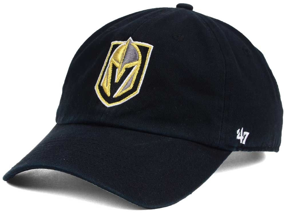 BRAND 47 Las Vegas Golden Knights Clean Up Adjustable Strapback Vasaras Cepure
