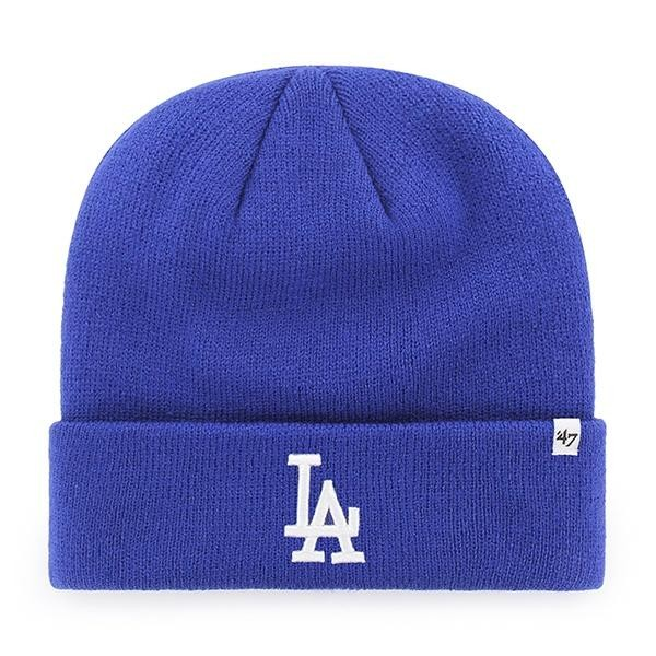 BRAND 47 Los Angeles Dodgers Raised Cuff Knit Ziemas Cepure