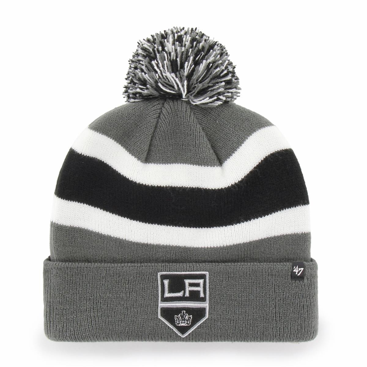 BRAND 47 Los Angeles Kings Breakaway Cuff Knit Ziemas Cepure