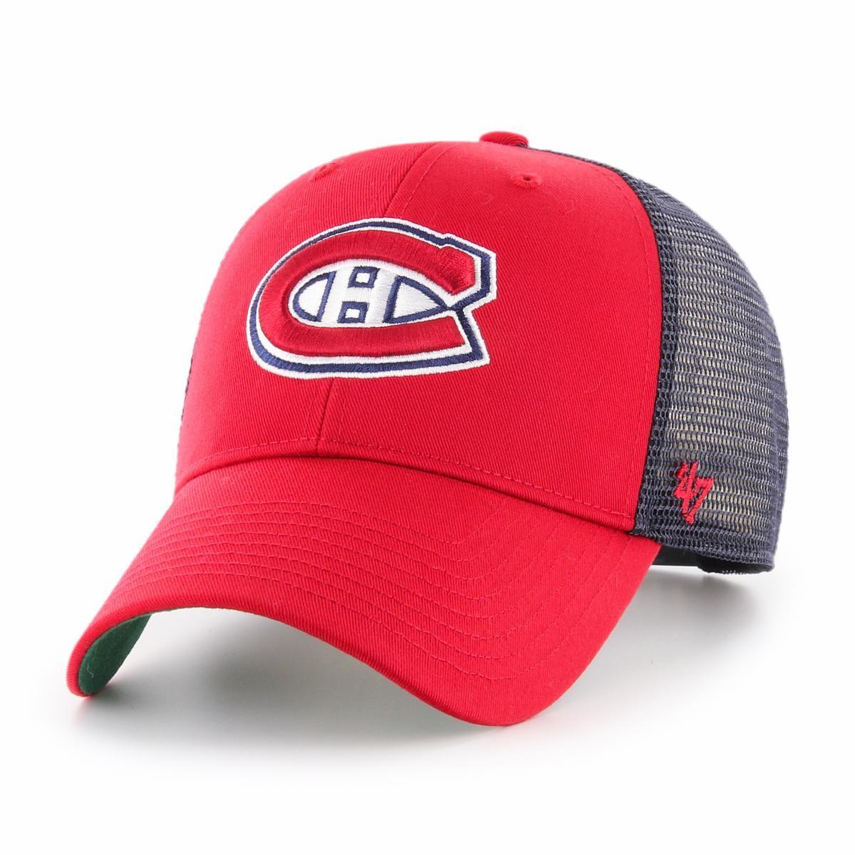 BRAND 47 Montreal Canadiens Branson MVP Adjustable Snapback Vasaras Cepure