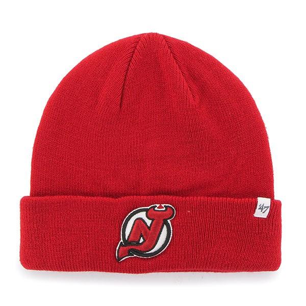 BRAND 47 New Jersey Devils Beanie Cuff Knit Ziemas Cepure