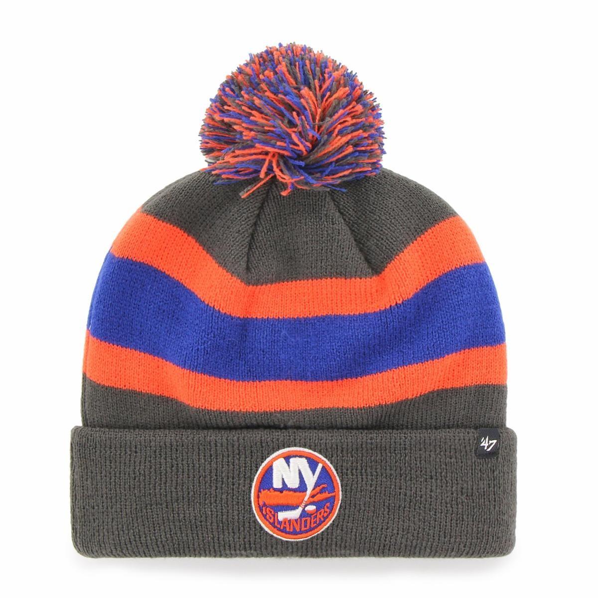 BRAND 47 New York Islanders Breakaway Cuff Knit Ziemas Cepure