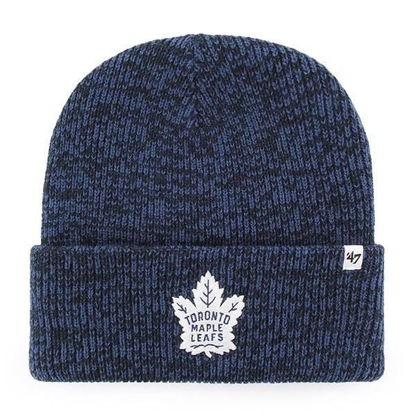 BRAND 47 Toronto Maple Leafs Brain Freeze Cuff Knit Ziemas Cepure