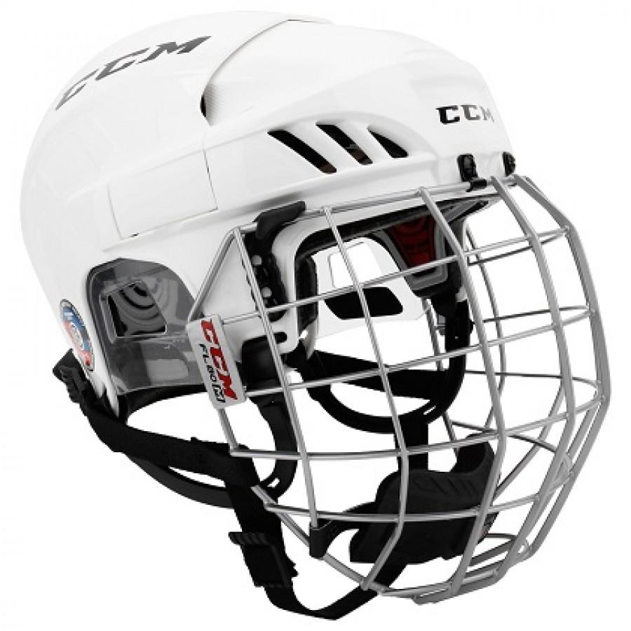 CCM Fitlite 60 Hokeja Ķivere ar Režģi