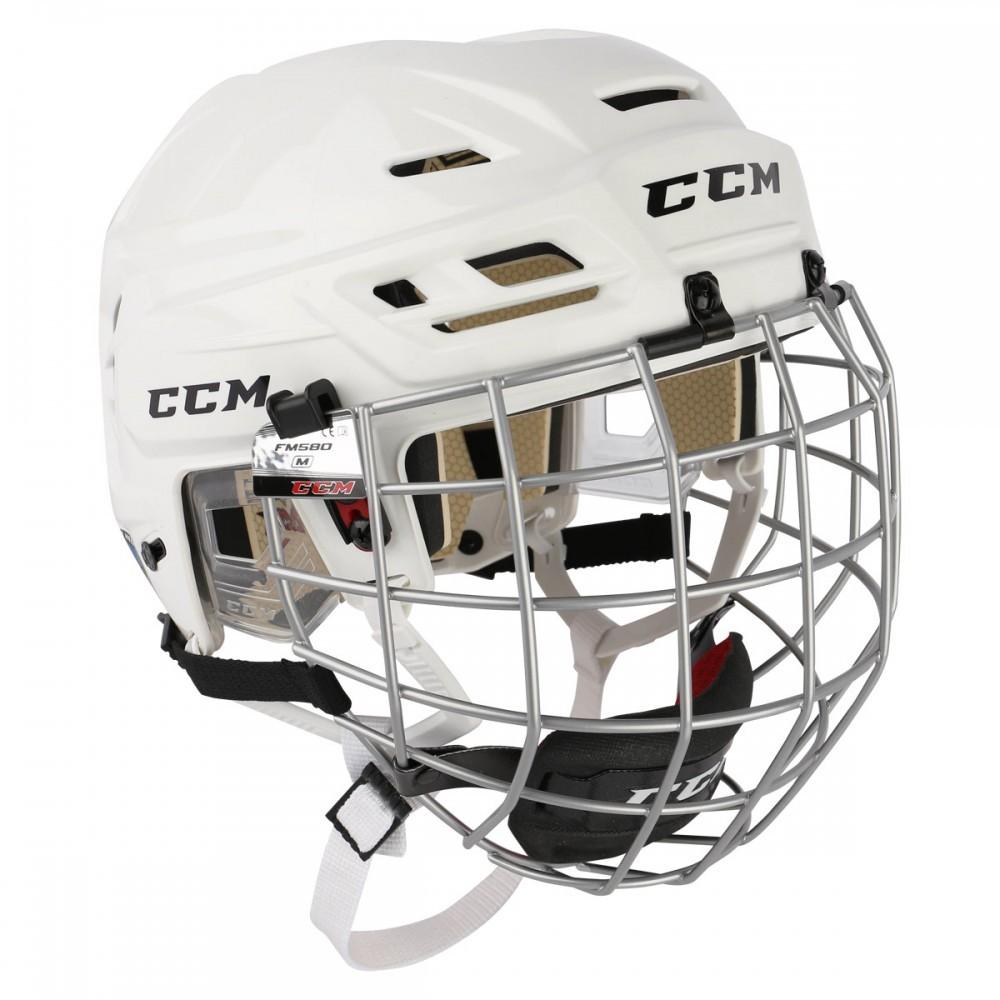 CCM Resistance 110 Hokeja Ķivere ar Režģi