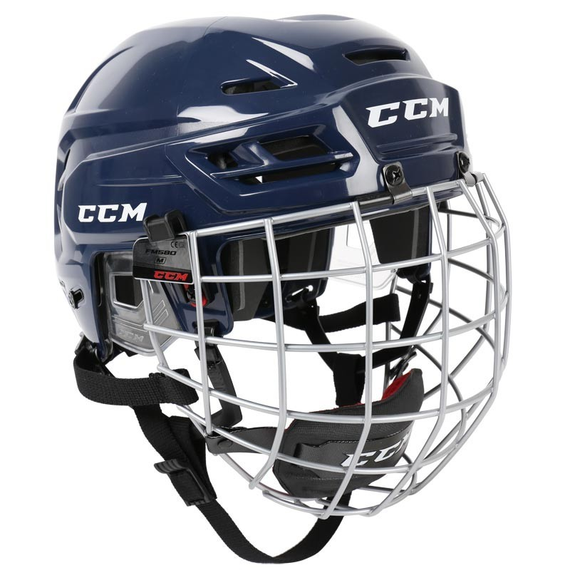 CCM Resistance 300 Hokeja Ķivere ar Režģi