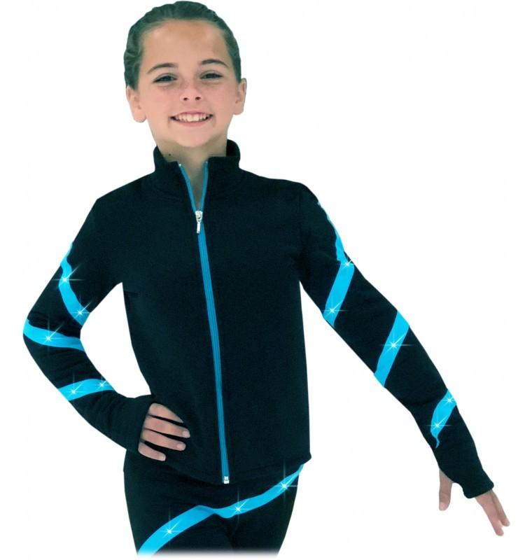 Chloe Noel JS106P Youth Elite Polartec Spiral Fleece Daiļslidošanas Jaka