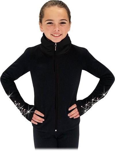 Chloe Noel JS883P Youth Elite Polartec Fleece Contrast Daiļslidošanas Jaka