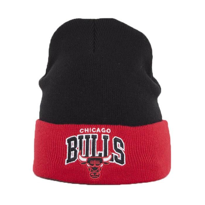 MITCHELL & NESS Chicago Bulls Arched Cuff Ziemas Cepure