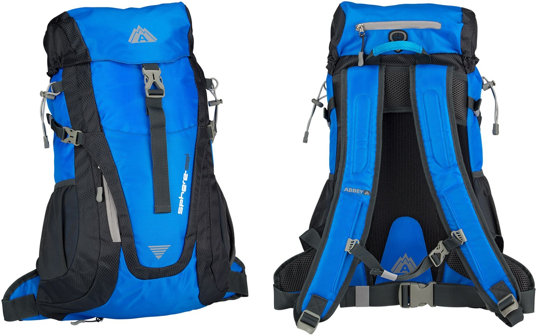 ABBEY Outdoor Areo-Fit Tūrisma Mugursoma 35L