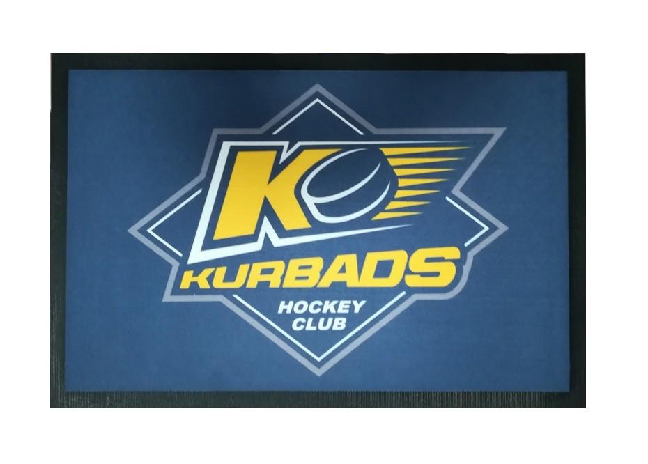 HOKEJAM.LV HK Kurbads Hokeja Slidu Paklājs