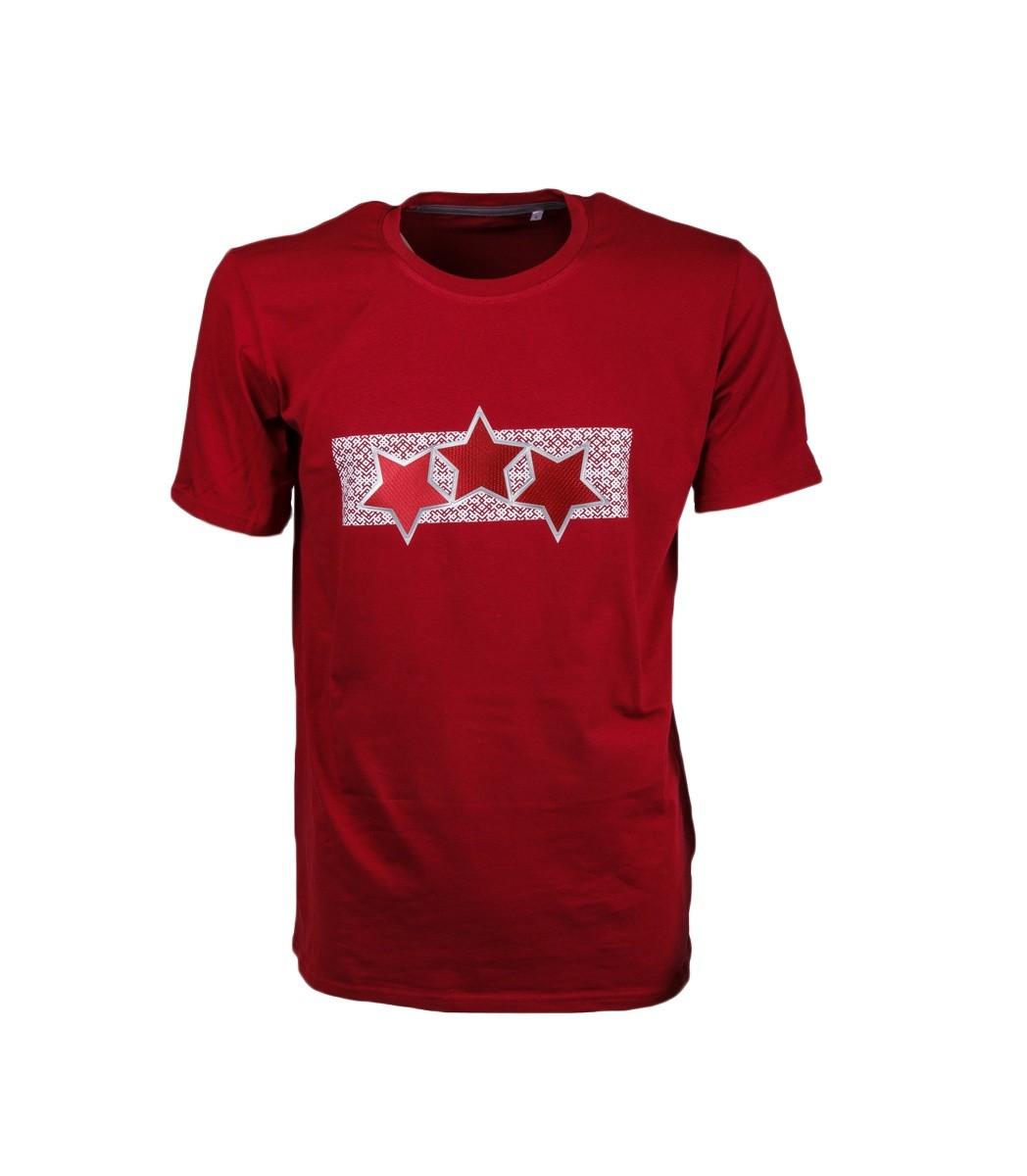 Junioru Latvijas Trīs Zvaigžņu T-Krekls