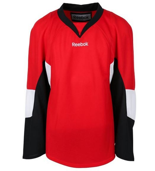 REEBOK Ottawa Senators Edge Bērnu Spēļu Krekls (Mājas Spēļu)