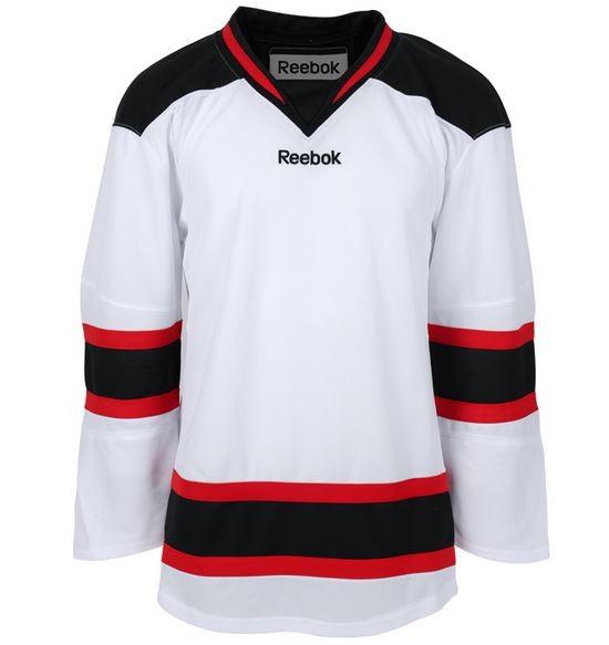 REEBOK New Jersey Devils Edge Bērnu Hokeja Krekls (Izbraukuma)