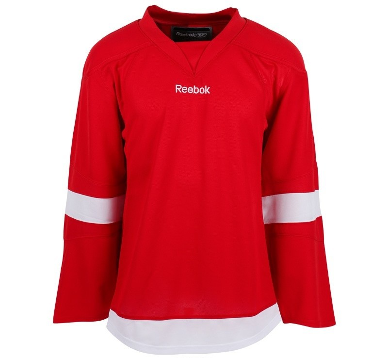 REEBOK Detroit Red Wings Edge Pieaugušo Hokeja Krekls (Mājas Spēļu)