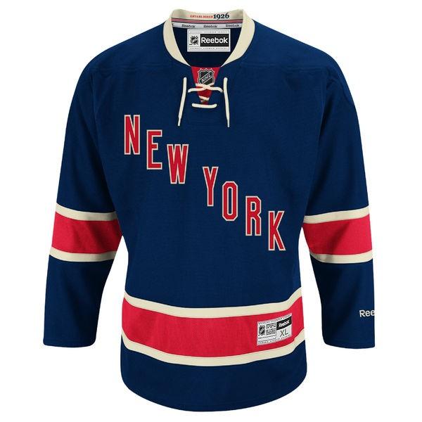 REEBOK New York Rangers Vintage Pieaugušo Hokeja Krekls (Mājas Spēļu)