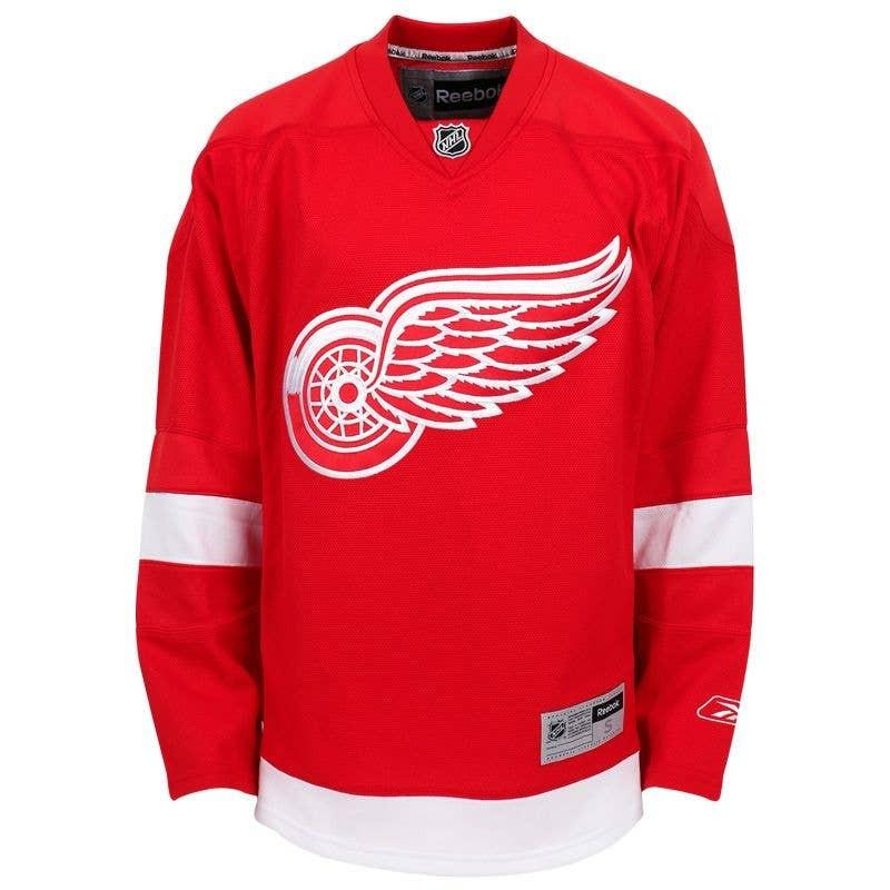 REEBOK Detroit Red Wings Premier Pieaugušo Fanu Krekls