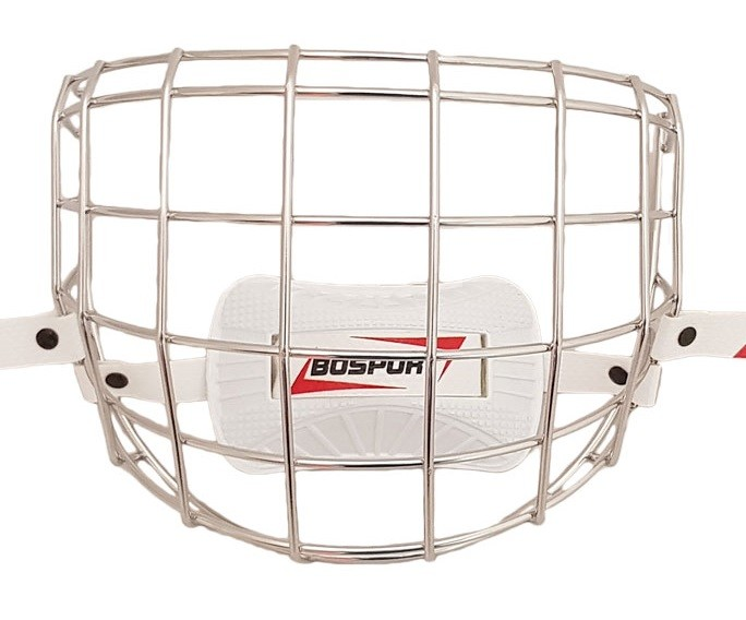 BOSPORT Face Protector Stainless Steel Yth. Маска