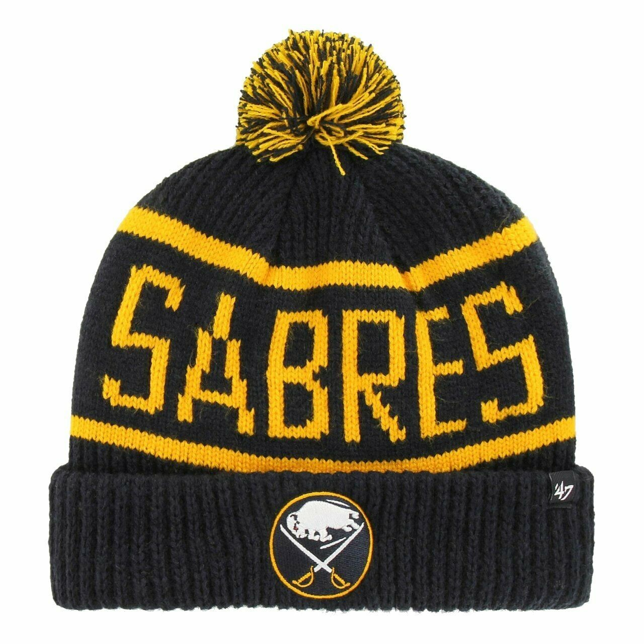 BRAND 47 Buffalo Sabres Calgary Alternate Cuff Knit Зимняя Шапка