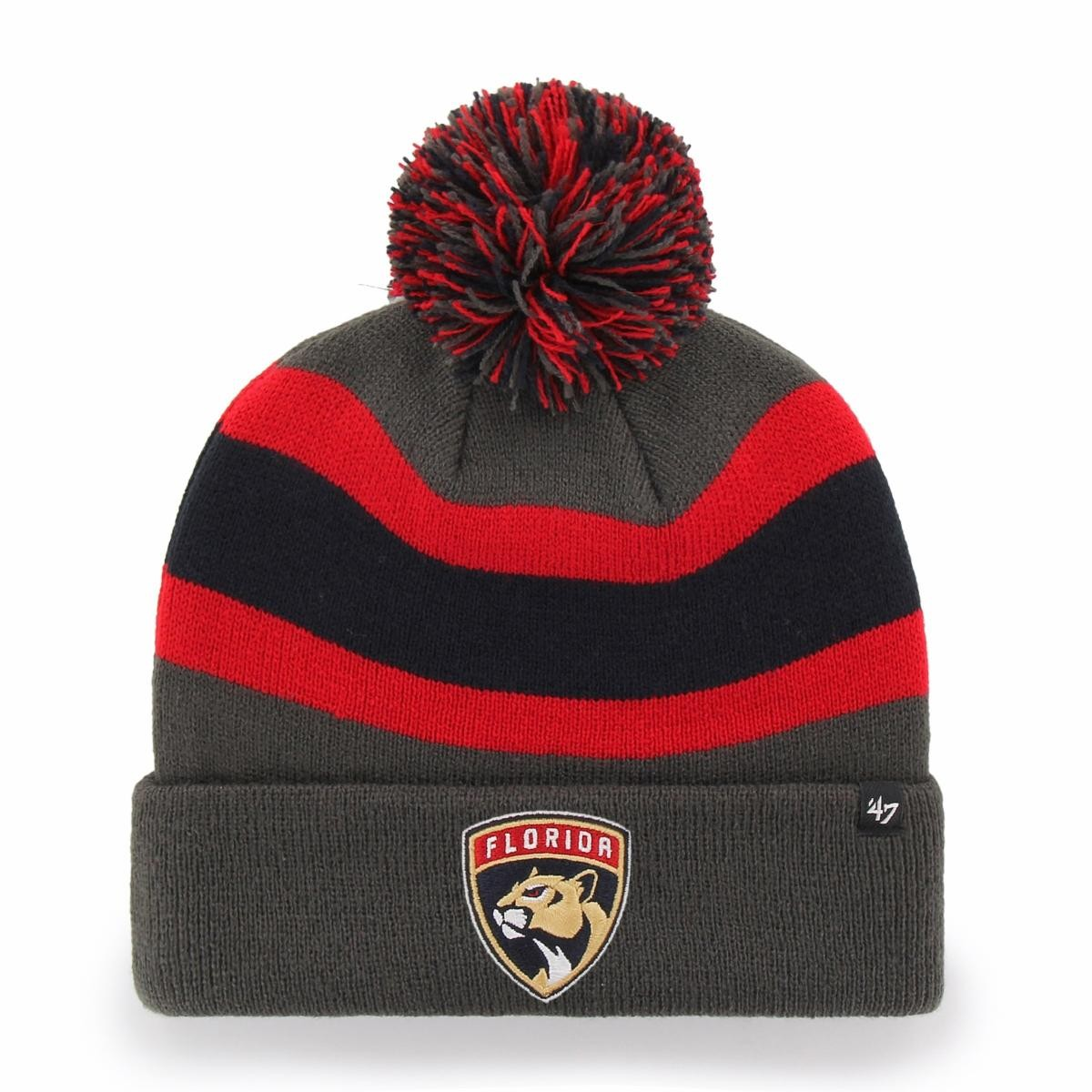 BRAND 47 Florida Panthers Breakaway Cuff Knit Winter Hat