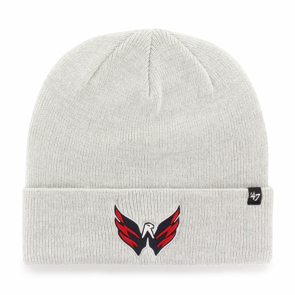 BRAND 47 Washington Capitals Checker Cuff Knit Winter Hat