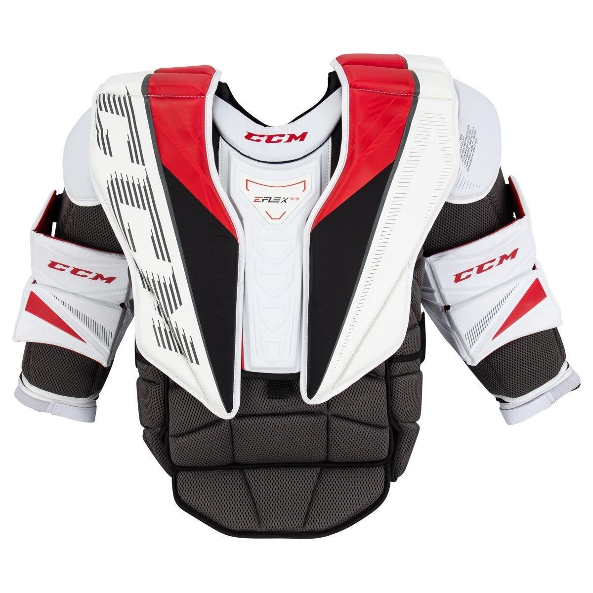 CCM Extreme Flex E5.9 Intermediate Goalie Chest & Arm Protector