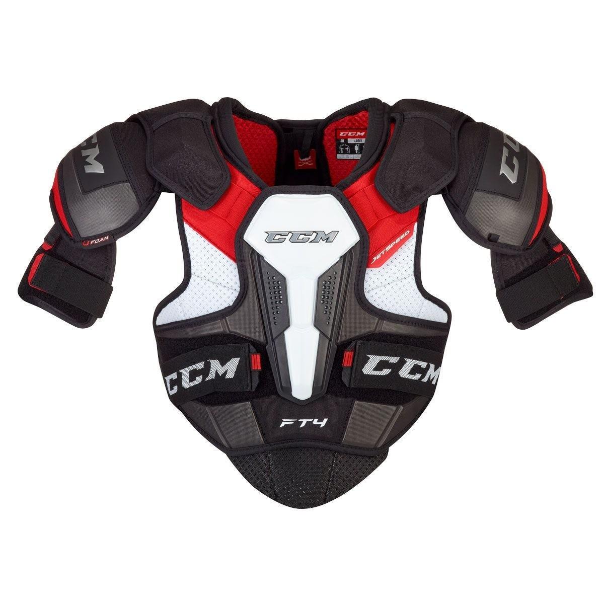 CCM Jetspeed FT4 Junior Shoulder Pads