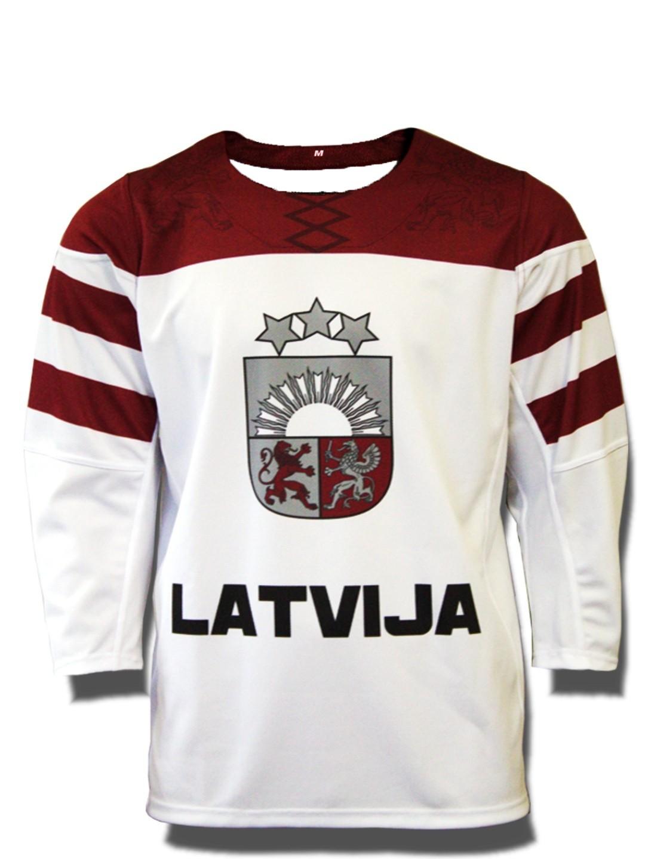 Team Latvia Sr. Майка Хоккейная